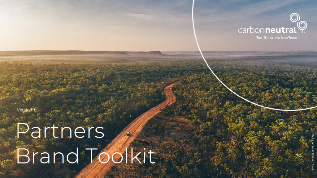 Carbon Neutral's Partners Brand Toolkit